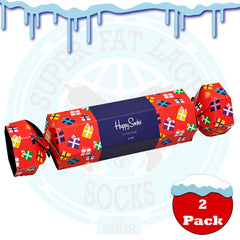 Happy Socks Men's Present Cracker Gift Box - 2 Pack