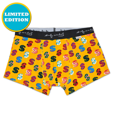 Happy Socks x Andy Warhol Men's Underwear - Dollar - Large