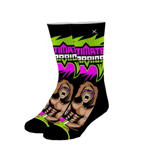 Odd Sox Unisex Crew Socks - From Parts Unknown (WWE)