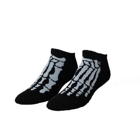 Odd Sox Unisex Ankle Socks - Skeleton (Shorties)