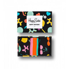 Happy Socks Women's Balloon Animal Birthday Gift Box - 3 Pack