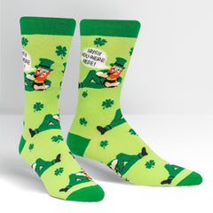 Sock It To Me Men's Crew Socks - Irish You Were Here