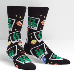 Sock It To Me Men's Crew Socks - You're out of this World
