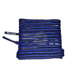 Mr Lacy Hikies - Royal Blue & Black Shoelaces 130cm