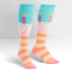 Sock It To Me Women's Knee High Socks - It's My Birthday