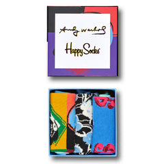 Happy Socks x Andy Warhol Women's Gift Box - 3 Pack