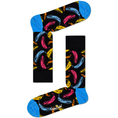 Happy Socks x Andy Warhol Women's Crew Socks - Banana