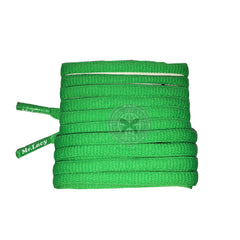 Mr Lacy Runnies Hydrophobic - Kelly Green Shoelaces