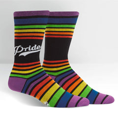 Sock It To Me Men's Crew Socks - Pride