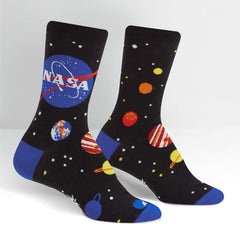 Sock It To Me Women's Crew Socks - Solar System (NASA)