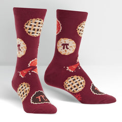 Sock It To Me Women's Crew Socks - Easy As Pi