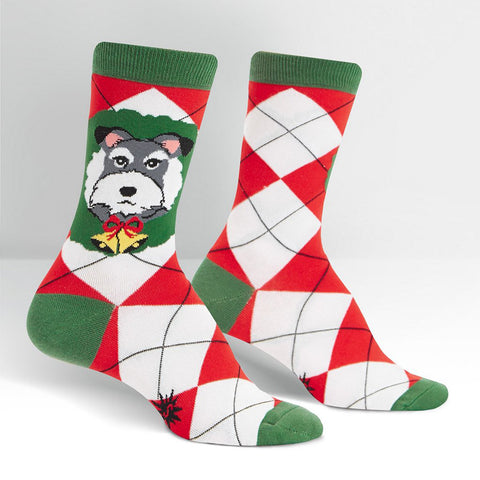 Sock It To Me Women's Crew Socks - Deck The Paws