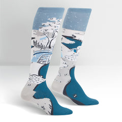 Sock It To Me Women's Knee High Socks - Meguro Drum Bridge