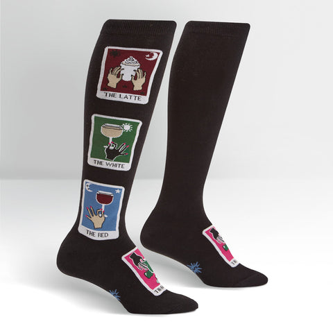 Sock It To Me Women's Knee High Socks - Daily Tarot
