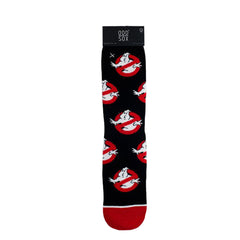 Odd Sox Men's Crew Socks - Ghostbusters Logos