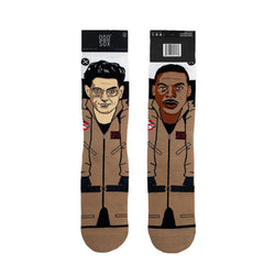 Odd Sox Men's Crew Socks - Spengler & Zeddemore (Ghostbusters)