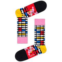 Happy Socks x Pink Panther Women's Crew Socks - Jet Pink