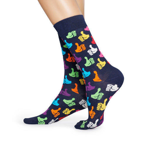 Happy Socks Women's Crew Socks - Thumbs Up