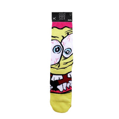 Odd Sox Men's Crew Socks - Grossbob (Spongebob Squarepants)