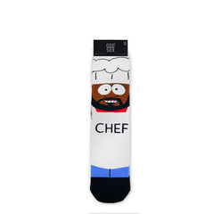 Odd Sox Men's Crew Socks - Kiss The Chef (South Park)