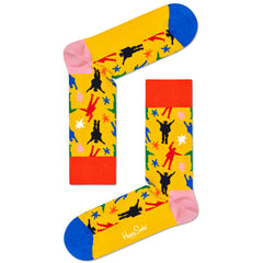 Happy Socks x The Beatles Women's Crew Socks - Helping Hands