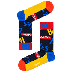 Happy Socks x The Beatles Men's Crew Socks - In the Name of