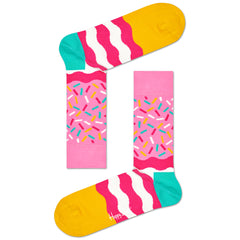 Happy Socks Women's Crew Socks - Birthday Sprinkles