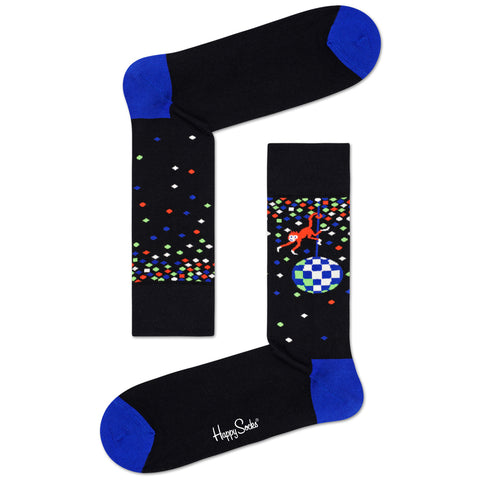 Happy Socks Women's Crew Socks - Disco Monkey