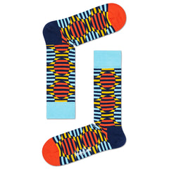 Happy Socks Men's Crew Socks - Optic Dot