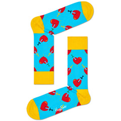 Happy Socks Women's Crew Socks - Broken Heart