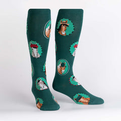 Sock It To Me Unisex STRETCH-IT Knee High Socks - Horsing Around