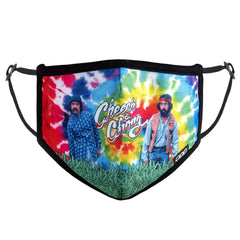 Odd Sox Face Masks - Cheech & Chong Tie Dye (One Size)