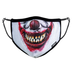 Odd Sox Face Masks - Evil Clown (One Size)