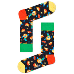 Happy Socks Women's Crew Socks - Moon Mouse
