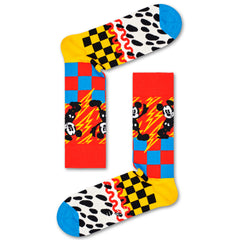 Happy Socks x Disney Men's Crew Socks - Mickey-Time