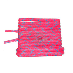 Mr Lacy Hikies ENERGY Round - Neon Pink & Blue Shoelaces 115cm