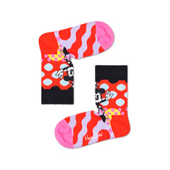 Happy Socks x Disney Kids Crew Socks - Minnie-Time (7-9 Years Old)