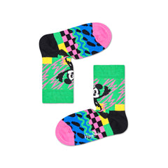 Happy Socks x Disney Kids Crew Socks - Mickey-Time (7-9 Years Old)