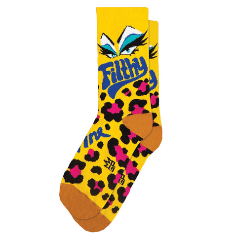 Gumball Poodle Unisex Crew Socks - Filthy (Divine)