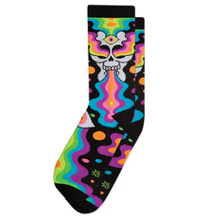 Gumball Poodle Unisex Crew Socks - Eye of The Doomed (Oliver Hibert)