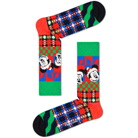 Happy Socks Men's Disney Christmas VHS Gift Box - 4 Pack