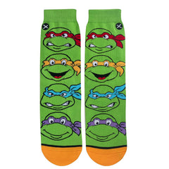 Odd Sox Women's Crew Socks - Turtle Boys (TMNT)