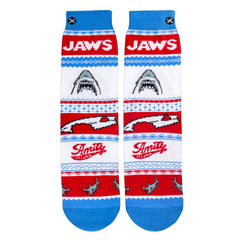 Odd Sox Men's Crew Socks - Jaws Sweater