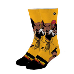 Odd Sox Men's Crew Socks - Dhalsim (Street Fighter II)