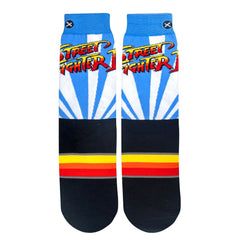 Odd Sox Men's Crew Socks - Street Fighter II