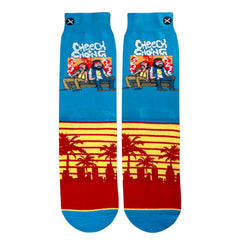 Odd Sox Men's Crew Socks - Sunset (Cheech & Chong)