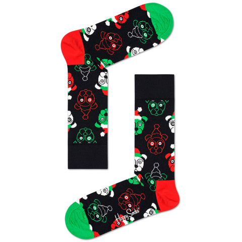 Happy Socks Women's Psychedelic Christmas Gift Box - 4 Pack