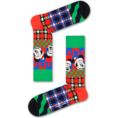 Happy Socks x Disney Men's Crew Socks - 'Tis the Season