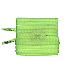 Mr Lacy Runnies Hydrophobic - Neon Lime Yellow Shoelaces
