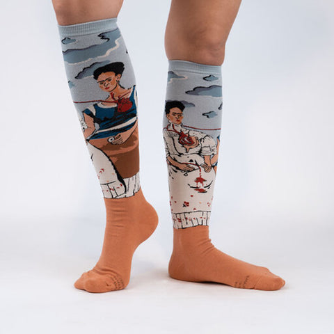 Sock It To Me Women's Knee High Socks - The Two Fridas